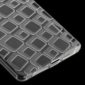 Square gelový obal na Huawei Mate 8 - transparentní - 5