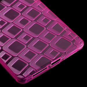 Square gelový obal na Huawei Mate 8 - rose - 5