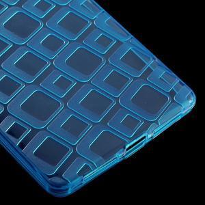 Square gelový obal na Huawei Mate 8 - modrý - 5