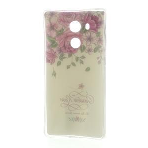 Softy gelový obal na mobil Huawei Mate 8 - růže - 5