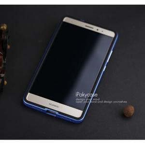 Odolný hybridní obal 2v1 na Huawei Mate S - modrý - 5