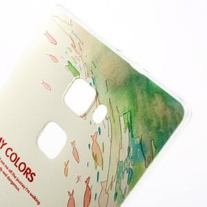 Softy gelový obal na mobil Huawei Mate S - fish - 5