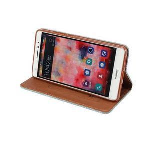 Style knížkové pouzdro na mobil Huawei Mate S - zelené - 5