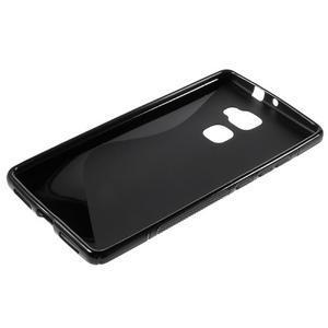S-line gelový obal na mobil Huawei Mate S - černý - 5