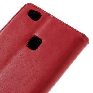 Klopové pouzdro na mobil Huawei P9 Lite - červené - 5