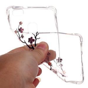 Lacqe gelový obal na Huawei P9 Lite - kvetoucí větev - 5
