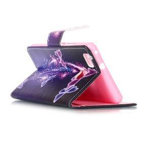 Patter PU kožené pouzdro na mobil Huawei P9 Lite - kouzelní motýlci - 5