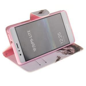 Lethy knížkové pouzdro na telefon Huawei P9 Lite - pekelný střevíček - 5