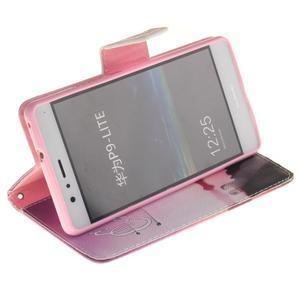 Lethy knížkové pouzdro na telefon Huawei P9 Lite - užívej si - 5