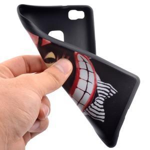 Gelový obal na telefon Huawei P9 Lite - kocour - 5