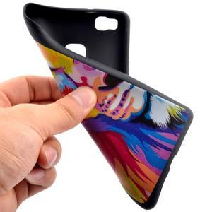 Gelový obal na telefon Huawei P9 Lite - lev - 5