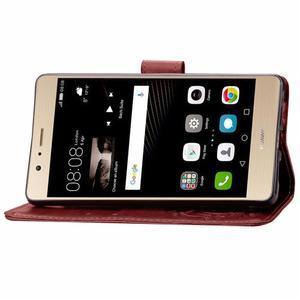 Cloverleaf peněženkové pouzdro na Huawei P9 Lite - hnědé - 5