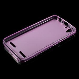 Matný gelový obal na mobil Lenovo Vibe K5 / K5 Plus - růžový - 5