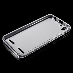 Matný gelový obal na mobil Lenovo Vibe K5 / K5 Plus - transparentní - 5