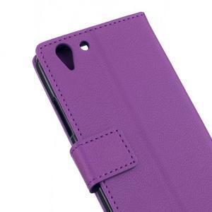 Peněženkové pouzdro na Lenovo Vibe K5 / K5 Plus - fialové - 5