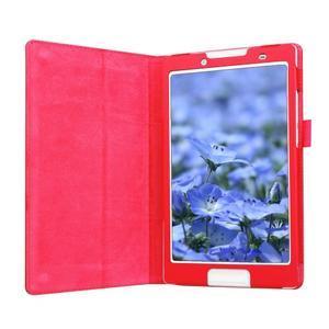 Dvoupolohové pouzdro na tablet Lenovo Tab 2 A8-50 - červené - 5