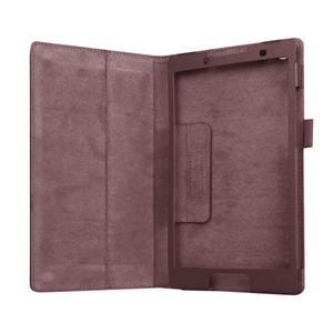 Dvoupolohové pouzdro na tablet Lenovo Tab 2 A8-50 - hnědé - 5