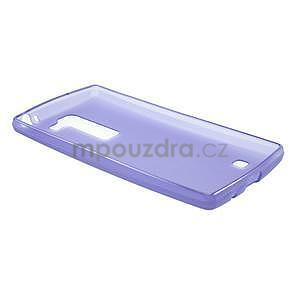 Matný gelový kryt na LG Spirit - fialový - 5