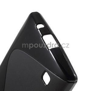 S-line gelový obal na LG Spirit 4G LTE - černý - 5