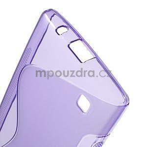 S-line gelový obal na LG Spirit 4G LTE - fialový - 5