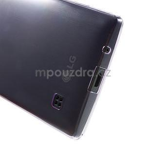 Ultra tenký obal na LG Spirit - fialový - 5