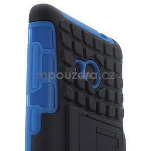 Vysoce odolný obal pro Microsoft Lumia 535 - modrý - 5