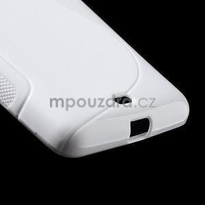 Gelový obal na Microsoft Lumia 535 - bílý - 5