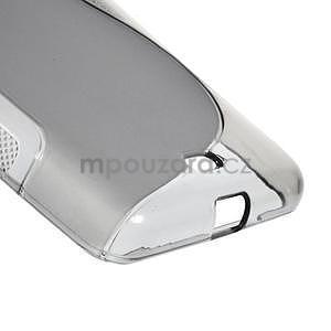 Gelový obal na Microsoft Lumia 535 - šedý - 5