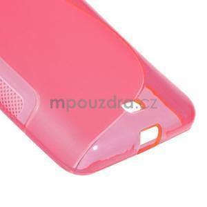 Gelový obal na Microsoft Lumia 535 - rose - 5