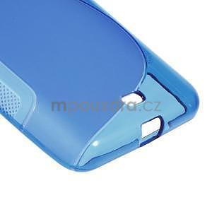 Gelový obal na Microsoft Lumia 535 - modrý - 5
