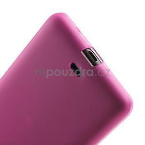 Matný gelový obal Microsoft Lumia 535 - rose - 5