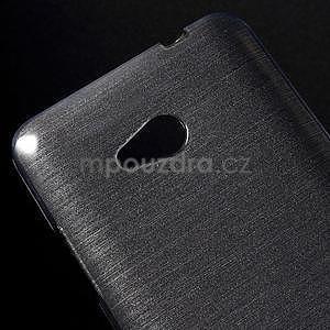 Broušený gelový obal na Microsoft Lumia 640 LTE - šedý - 5
