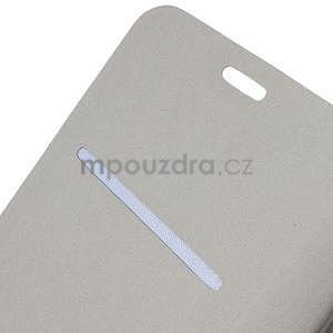Tyrkysové peněženkové pouzdro na Microsoft Lumia 640 LTE - 5
