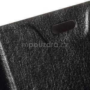 Černé peněženkové pouzdro na Microsoft Lumia 640 LTE - 5