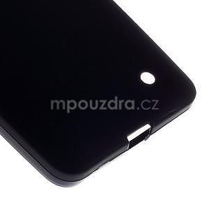 Matný gelový kryt na Microsoft Lumia 640 LTE - černý - 5