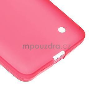 Matný gelový kryt na Microsoft Lumia 640 LTE - červený - 5