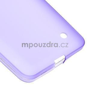 Matný gelový kryt na Microsoft Lumia 640 LTE - fialový - 5