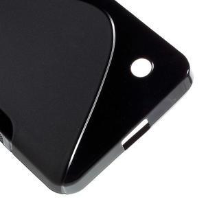 S-line gelový obal na mobil Microsoft Lumia 550 - černý - 5