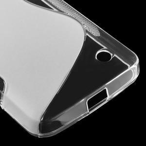 S-line gelový obal na mobil Microsoft Lumia 550 - transparentní - 5