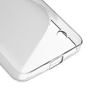 S-line gelový obal na mobil Microsoft Lumia 550 - šedý - 5