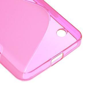 S-line gelový obal na mobil Microsoft Lumia 550 - rose - 5