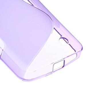 S-line gelový obal na mobil Microsoft Lumia 550 - fialový - 5