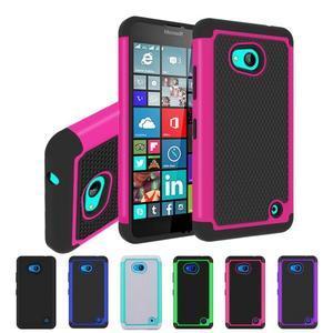 Odolný hybridní kryt na mobil Microsoft Lumia 640 - rose - 5