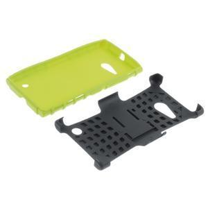 Outdoor odolný kryt na Nokia Lumia 730/735 - zelený - 5