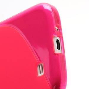 S-line gelový obal na Samsung Galaxy S4 - rose - 5