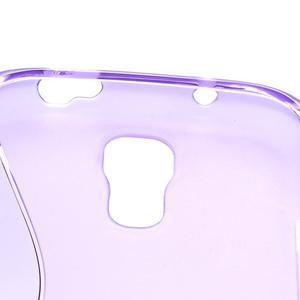 S-line gelový obal na Samsung Galaxy S4 - fialový - 5