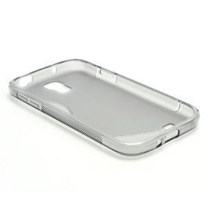 S-line gelový obal na Samsung Galaxy S4 - šedý - 5