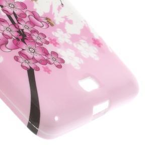 Soft gelový obal na Microsoft Lumia 535 - kvetoucí větvička - 5