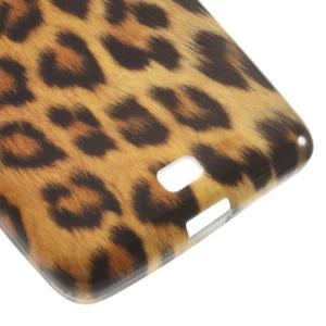 Soft gelový obal na Microsoft Lumia 535 - leopard - 5