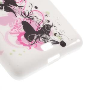Soft gelový obal na Microsoft Lumia 535 - elegantní motýlci - 5